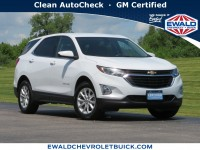 Certified, 2019 Chevrolet Equinox LT, White, GP4744-1