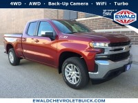 New, 2019 Chevrolet Silverado 1500 LT, Red, 19C232-1