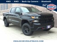 New, 2019 Chevrolet Silverado 1500 Custom Trail Boss, Black, 19C457-1