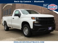 New, 2019 Chevrolet Silverado 1500 Work Truck, White, 19C597-1