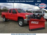 New, 2019 Chevrolet Silverado 2500HD Work Truck, Red, 19C102-1