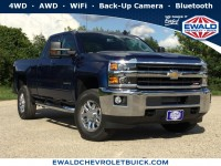New, 2019 Chevrolet Silverado 2500HD LT, Blue, 19C973-1