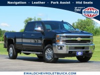 Used, 2019 Chevrolet Silverado 2500HD LTZ, Black, GP4736-1