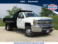 New, 2019 Chevrolet Silverado 3500HD WT, White, 19C624-1