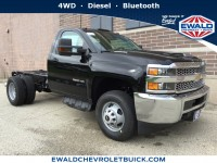 New, 2019 Chevrolet Silverado 3500HD WT, Black, 19C87-1