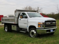 New, 2019 Chevrolet Silverado 6500MD 2WD Reg Cab, White, 19C455-1