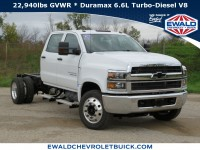 New, 2019 Chevrolet Silverado MD Work Truck, White, 19C1024-1