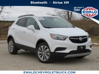 New, 2020 Buick Encore Preferred, White, 20B14-1