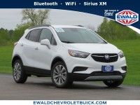 New, 2020 Buick Encore Preferred, White, 20B24-1