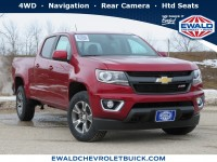New, 2020 Chevrolet Colorado 4WD Z71, Red, 20C528-1
