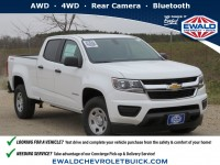 New, 2020 Chevrolet Colorado 4WD Work Truck, White, 20C729-1