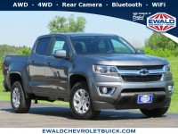 New, 2020 Chevrolet Colorado 4WD LT, Silver, 20C841-1