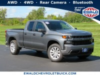 New, 2020 Chevrolet Silverado 1500 Custom, Silver, 20C1137-1