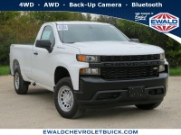 New, 2020 Chevrolet Silverado 1500 Work Truck, White, 20C120-1