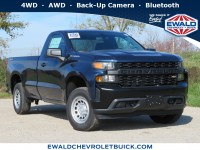 New, 2020 Chevrolet Silverado 1500 Work Truck, Blue, 20C123-1