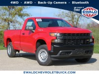 New, 2020 Chevrolet Silverado 1500 Work Truck, Red, 20C124-1
