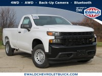 New, 2020 Chevrolet Silverado 1500 Work Truck, White, 20C154-1