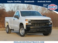 New, 2020 Chevrolet Silverado 1500 Work Truck, White, 20C248-1