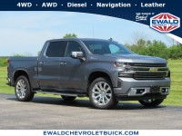 New, 2020 Chevrolet Silverado 1500 High Country, Silver, 20C868-1