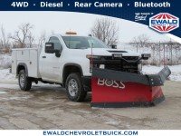 New, 2020 Chevrolet Silverado 2500HD Work Truck, White, 20C1241-1