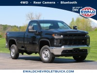 New, 2020 Chevrolet Silverado 2500HD Work Truck, Black, 20CF653-1