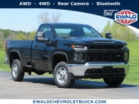 New, 2020 Chevrolet Silverado 2500HD Work Truck, Black, 20CF654-1