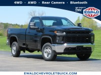New, 2020 Chevrolet Silverado 2500HD Work Truck, Black, 20CF670-1