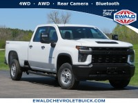 New, 2020 Chevrolet Silverado 2500HD Work Truck, White, 20CF698-1