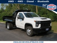 New, 2020 Chevrolet Silverado 3500HD CC Work Truck, White, 20C1136-1