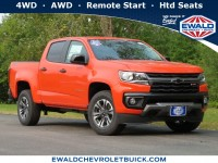 New, 2021 Chevrolet Colorado 4WD Z71, Orange, 21C19-1