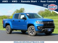 New, 2021 Chevrolet Colorado 4WD Z71, Blue, 21C26-1