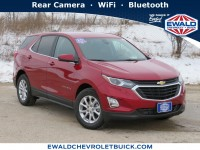 New, 2021 Chevrolet Equinox LT, Red, 21C316-1