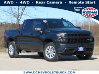 New, 2021 Chevrolet Silverado 1500 Custom, Gray, 21C471-1