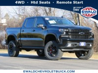New, 2021 Chevrolet Silverado 1500 RST, Black, 21C105-1