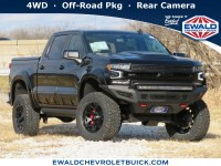New, 2021 Chevrolet Silverado 1500 RST, Black, 21C106-1