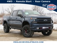 New, 2021 Chevrolet Silverado 1500 RST, Blue, 21C225-1