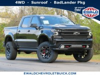 New, 2021 Chevrolet Silverado 1500 RST, Black, 21C43-1