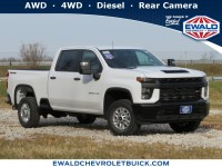 New, 2021 Chevrolet Silverado 2500HD Work Truck, White, 21C125-1