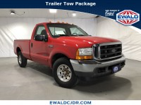 Used, 2001 Ford F-250sd XL, Red, DJ402A-1