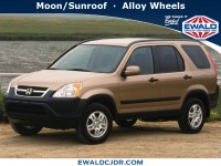 Used, 2002 Honda Cr-v EX, Blue, CL156A-1