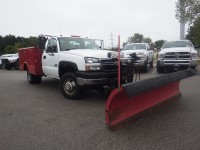 Used, 2006 Chevrolet Silverado 3500 WT, White, DJ157BB-1