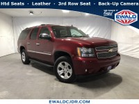 Used, 2009 Chevrolet Suburban 1500 LTZ, Red, DP53903-1