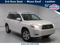 Used, 2010 Toyota Highlander SE, White, DP54282-1