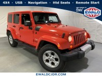 Used, 2013 Jeep Wrangler Sahara, Red, JL111A-1