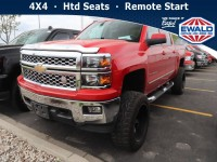 Used, 2014 Chevrolet Silverado 1500 LT, Red, DM178B-1