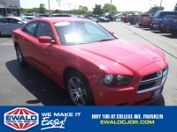 Used, 2014 Dodge Charger SXT, Red, DP53276-1