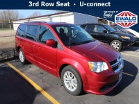 Used, 2014 Dodge Grand Caravan SXT, Red, CM134A-1