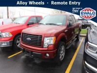 Used, 2014 Ford F-150 STX, Orange, DP54421A-1