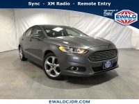 Used, 2014 Ford Fusion SE, Gray, DK358A-1
