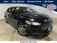 Used, 2014 Ford Fusion SE, Green, DP53938A-1